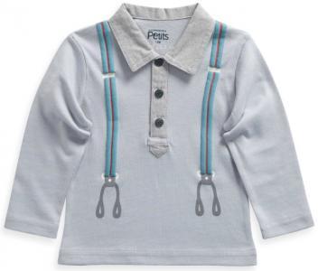 Рубашка La Compagnie des Petits. Цвет: серый