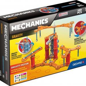 Магнитный конструктор  Mechanics Gravity 169 деталей Geomag