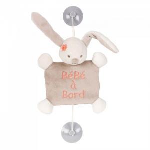 Знак Baby on board Mia & Basile Кролик Nattou