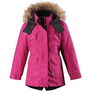 Утепленная куртка  Sisarus Reima. Цвет: розовый