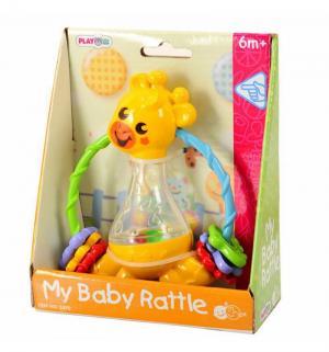 Развивающая игрушка  Жираф-погремушка Playgo