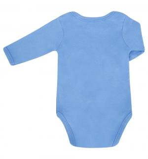 Комплект боди 3 шт , цвет: желтый/голубой Hudson Baby