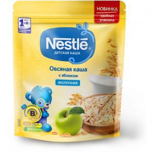 Каша  молочная овсяная с яблоком Моя 1-ая Каша.Продолжаем прикорм 5 месяцев 220 г Nestle