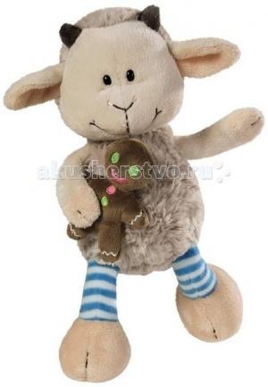 Мягкая игрушка  Козленок Гензель 50 см с пряничным человечком и магнитом в лапке Nici