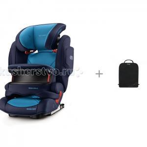 Автокресло  Monza Nova IS Seatfix и защитный коврик Munchkin Brica Recaro
