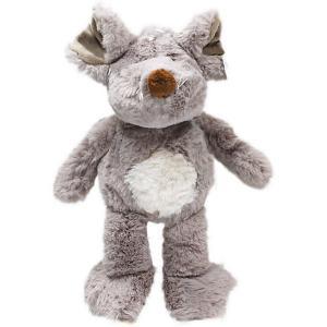 Мягкая игрушка  Мышь сидящая, 28 см Teddykompaniet. Цвет: серый