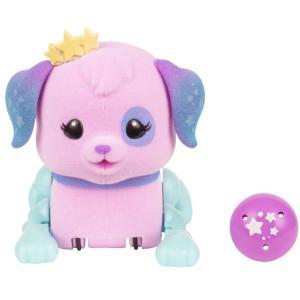 Игровой набор  Щенок с мячиком Созвездие сиреневый 8 см Little Live Pets