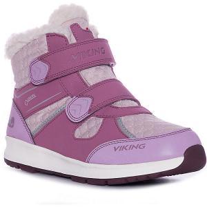 Утепленные Ботинки Sophie VIKING. Цвет: розовый