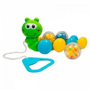 Каталка-игрушка  Гусеница с шариками Bebelino