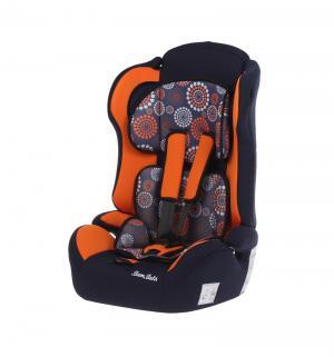 Автокресло  Primo Одуванчик, цвет: темно-синий/оранжевый Bambola