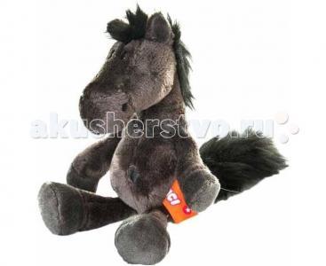 Мягкая игрушка  Лошадь черная Nici