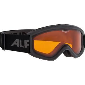 Горнолыжные очки  Carat DH, чёрные Alpina. Цвет: черный