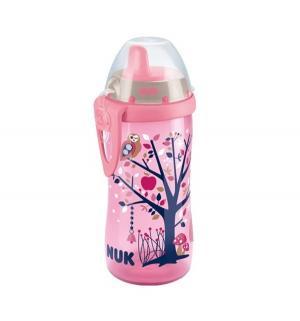 Поильник  Kiddy Cup, от года, цвет: розовый Nuk