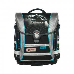 Школьный рюкзак Вертолет MC Neill  ERGO Light COMPACT McNeill. Цвет: черный/белый