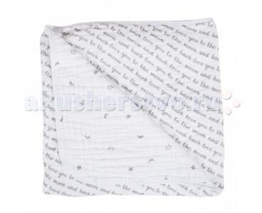 Одеяло  муслиновое Love and Luna 122х122 см Bebe au Lait