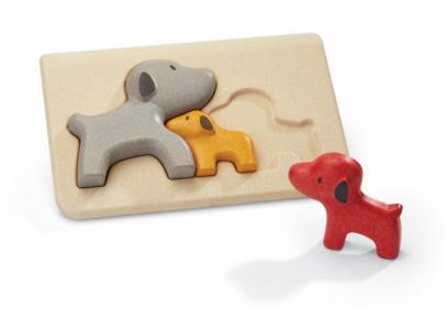 Деревянная игрушка  Пазл Собачки Plan Toys