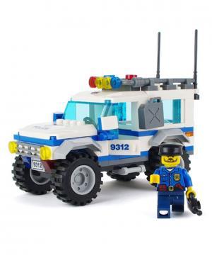 Полицейский патруль 163 деталей Gudi