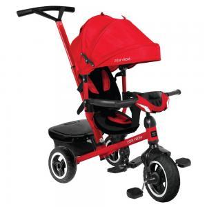 Трехколесный велосипед  Rider 360° 10x8 AIR Car, цвет: красный Moby Kids