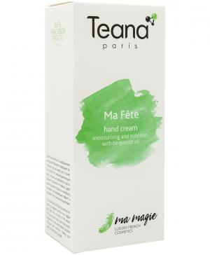 Крем для рук Увлажнение и питание с маслом бергамота Ma Fête (Мой праздник), 50 мл Teana