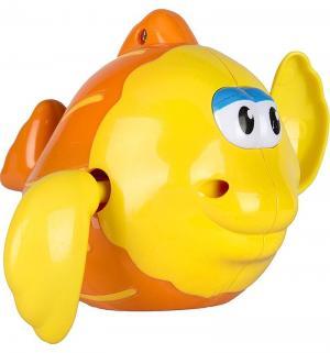 Игрушка  Рыбка заводной механизм цвет: оранжевый, 12 см Игруша