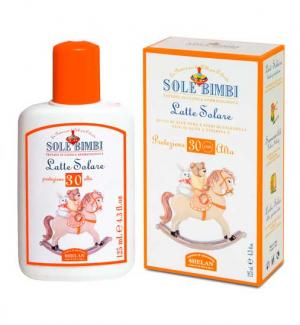 Солнцезащитное молочко Sole Bimbi SPF 30 125 мл Helan