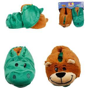 Вывертапки  Крокодил-Медведь, 31-33 см 1Toy. Цвет: разноцветный