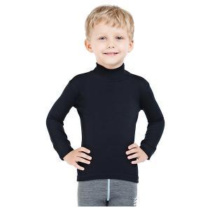 Водолазка  для мальчика Norveg. Цвет: черный
