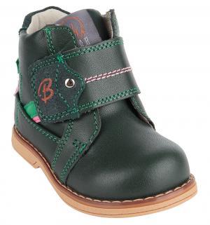 Ботинки , цвет: зеленый Tom.m
