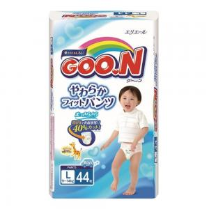 Подгузники-трусики  L для мальчиков (9-14 кг) 44 шт. Goon