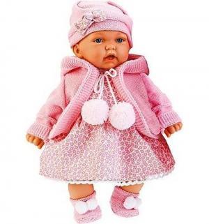 Кукла  Азалия в розовом 27 см Juan Antonio