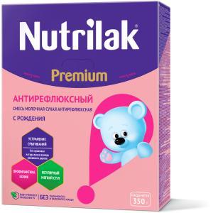 Молочная смесь  Premium Антирефлюкс 0-6 месяцев, 350 г Nutrilak