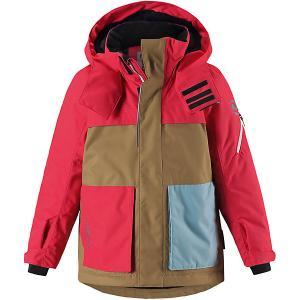 Утепленная куртка  Rondane Reima. Цвет: красный