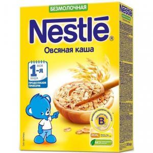 Каша  безмолочная Овсяная Моя 1-ая Каша.Продолжаем прикорм с 5 месяцев 200 г Nestle