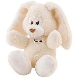 Мягкая игрушка  Заяц Вирджилио 26 см, кремовый Trudi. Цвет: бежевый с синевой