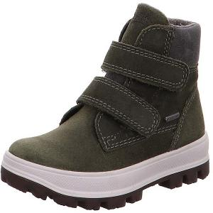 Утепленные ботинки Superfit. Цвет: хаки