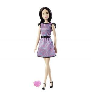 Кукла  С Днем рождения брюнетка в сиреневом платье Barbie