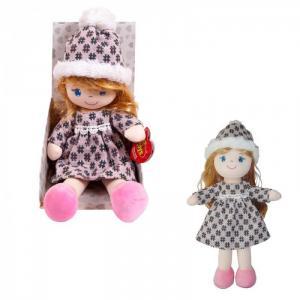 Кукла в шапочке и фетровом платье 36 см ABtoys