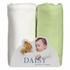 Пеленка  Трикотажная 90х120 см 2 шт. Daisy