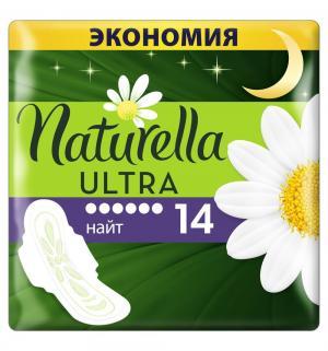 Прокладки  Night Duo, 14 шт Naturella