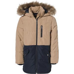 Куртка name it. Цвет: светло-коричневый