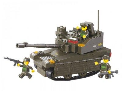Конструктор  BOX Танк M38-B0282 (178 элементов) Sluban