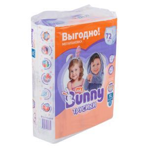 Трусики-подгузники  Детские (12-22 кг) 72 шт. My Bunny