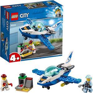 Конструктор  City Police 60206: Воздушная полиция: патрульный самолёт LEGO