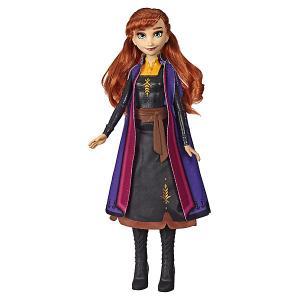 Кукла Disney Princess Холодное сердце 2 Сверкающее платье, Анна Hasbro. Цвет: разноцветный