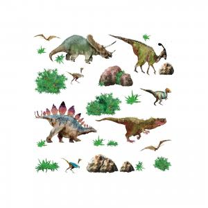 Наклейки для декора Динозавры Roommates