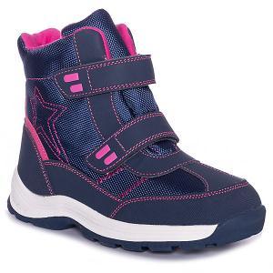 Утеплённые ботинки BJÖRKA. Цвет: синий