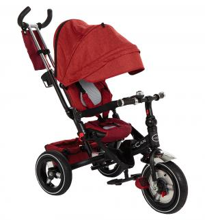 Трехколесный велосипед  M-8, цвет: красный McCan