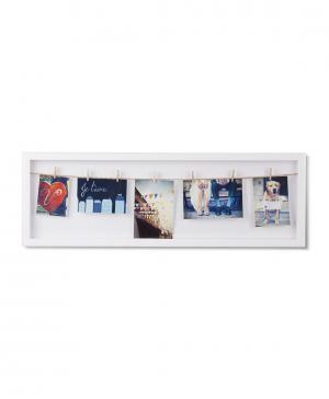Панно с зажимами для фотографий Clothesline Umbra
