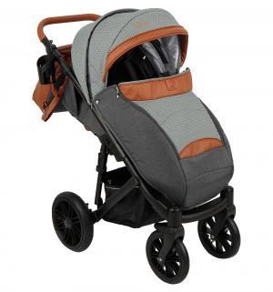 Прогулочная коляска  Cone, цвет: серый/коричневый Camarelo
