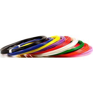 Комплект пластика  ABS для 3Д ручек, 9 цветов в органайзере Unid. Цвет: разноцветный